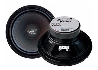 Parlante 8 400w Bobina De Aluminio Ps-870 Soundbarrier