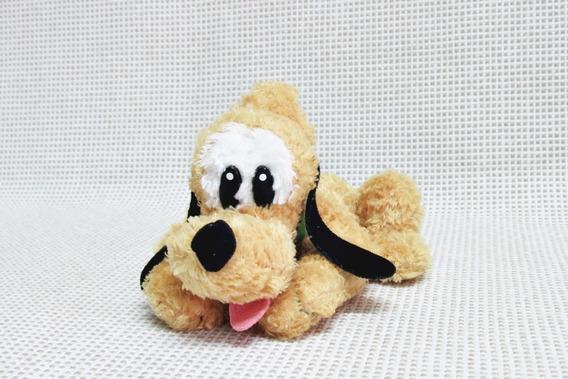 Pluto - Pateta Pelucia Pequena Original Disney 20 Cm Bau