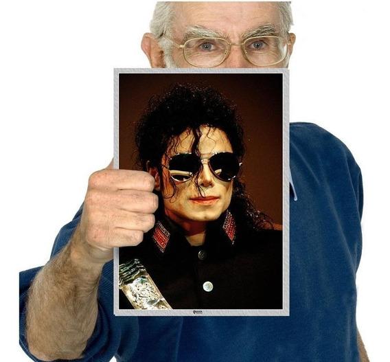 Quadro Michael Jackson Poster Jackson Five Tam A4 16
