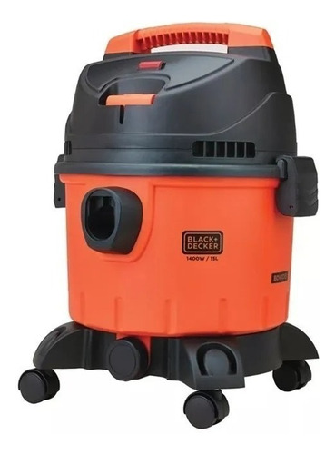 Aspiradora Para Polvo Y Agua Black And Decker 15l 1400w