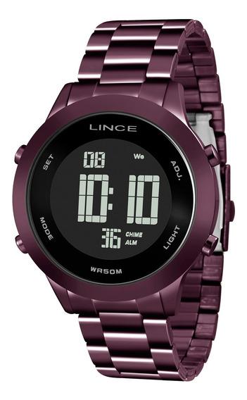 Relógio Lince Feminino Sdph083l Pxux Roxo - Refinado