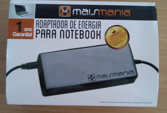 Carregador Notebook Universal - Mais Mania