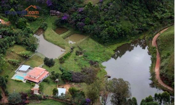 Chácara Residencial À Venda, Souzas, Monteiro Lobato. - Ch0021