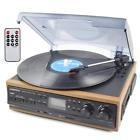 Boytone Bluetooth Record Player Turntable Am/fm Radio/casset