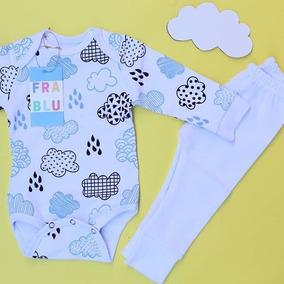 Conjunto Body Para Bebê Meninos Frablu