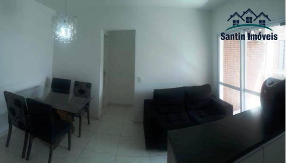 Apartamento Com 1 Dormitório ,todo Mobiliado,lazer Com Piscina,vaga Cobertaà Venda, 43 M² Por R$ 350.000 - Santa Paula - São Caetano Do Sul/sp - Ap1315