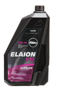 Aceite Ypf Elaion F10 15w40 4lts