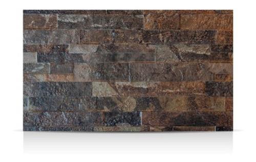 Cerámica Lourdes 31x53 Muro Piedra Petróleo 1era - Por M2
