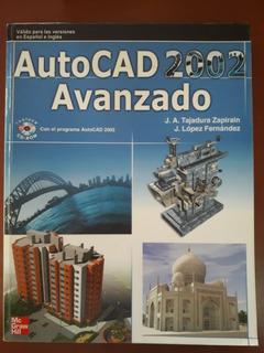 Libro Autocad Avanzado 2002 Tajadura Lopez