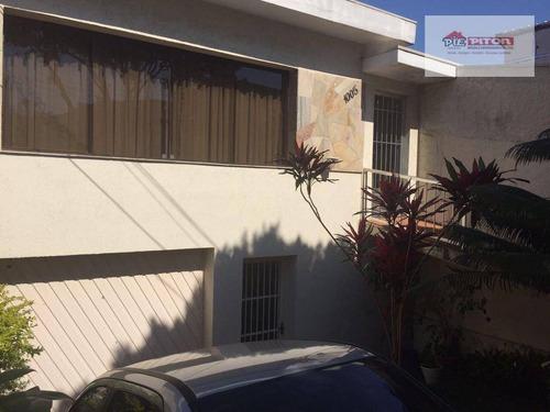 Casa Com 3 Dormitórios À Venda, 270 M² Por R$ 850.000,00 - Burgo Paulista - São Paulo/sp - Ca0641