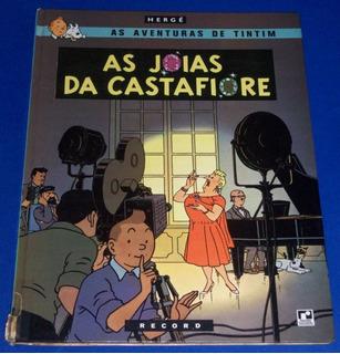 Tintim As Jóias Da Castafiore - Capa Dura - Record