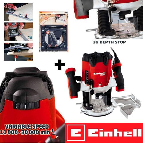 Fresadora Einhell Te-ro 55 220v + Kit  Base Line Master