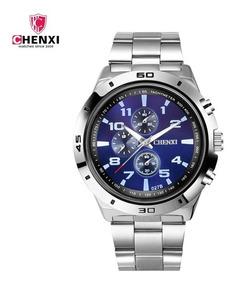 Relógio De Aço Inoxidável Top Relógio Grande .à Prova D