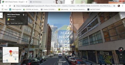 Sala À Venda, 45 M² Por R$ 170.000,00 - Centro - Curitiba/pr - Sa0007