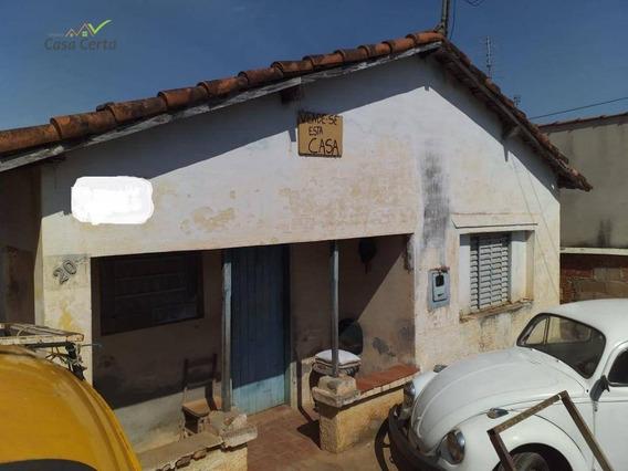 Casa Com 2 Dormitórios À Venda, 135 M² Por R$ 170.000 - Jardim Itamaraty - Mogi Guaçu/sp - Ca1469