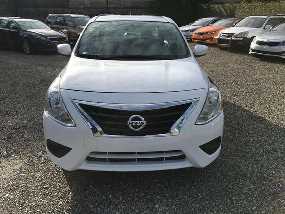 Nissan Versa Blanco 2016 Full