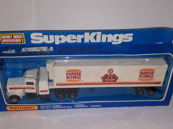 Matchbox Super Kings K 31 Burger Año 1978 By Lesney England