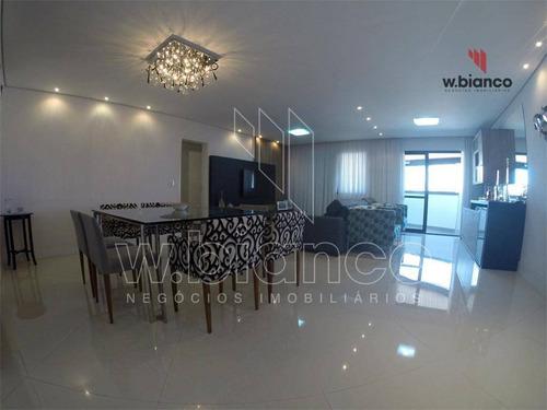 Apartamento Com 3 Dormitórios À Venda, 132 M² Por R$ 750.000,00 - Vila Caminho Do Mar - São Bernardo Do Campo/sp - Ap1602