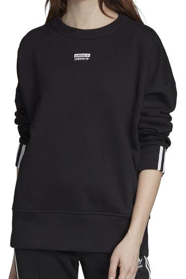 Buzo adidas Originals Moda Vocal Sweat Mujer Ng/bl