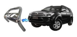 Parachoque Impulsão Chapa Cromado Toyota Sw4 2005 2015