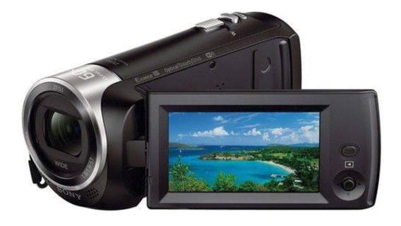 Filmadora Sony Hdr-cx440 - Wi-fi, Memória De 8gb, Full Hd