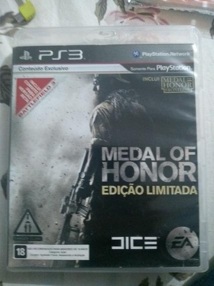 Medal Of Honor - Ps3 Original Em Mídia Física