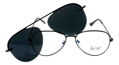 Óculos Clipon Aviador Ronda