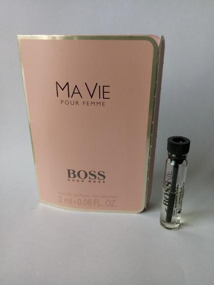 Amostra Perfume Hugo Boss Ma Vie Pour Femme Edp 2ml Fgrátis