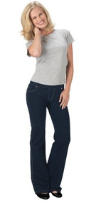 Pantalones De Mezclilla Con Bolsillos Estilo Pijama Jeans-ta