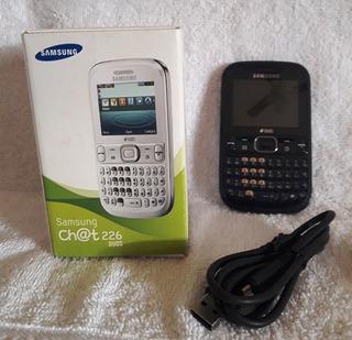 083 Cll- Um Celular Samsung Chat 226 Duo- Funcionando