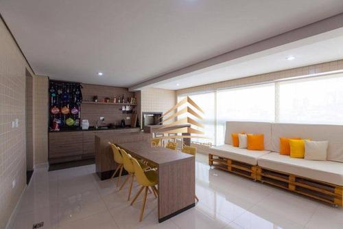 Imagem 1 de 30 de Apartamento No Condomínio Terrazzo, 165m², 3 Suítes, 3 Vagas. - Ap1251