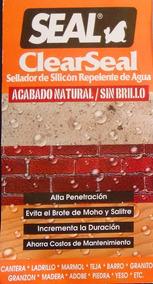 Sellador 4 Lt Apariencia Natural Para Cantera Y Piedras
