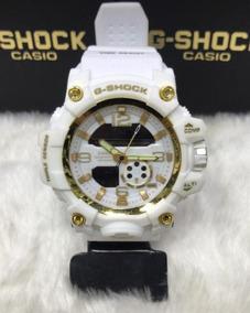 Relógio G-shock Mundmaster Liso Branco