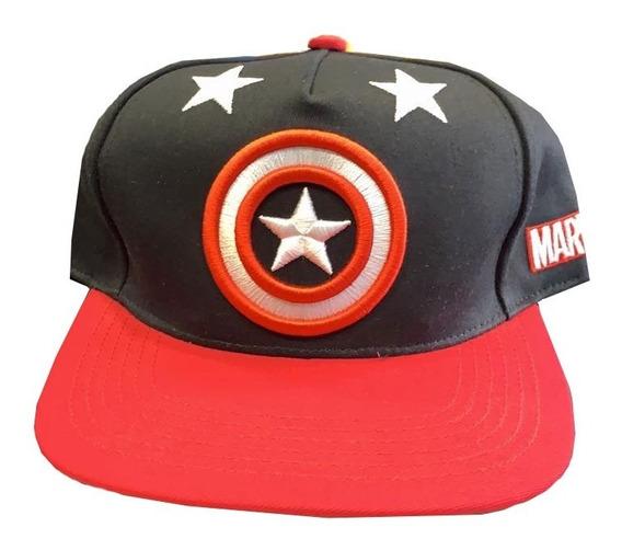 Gorra Cap Original Marvel Capitán América
