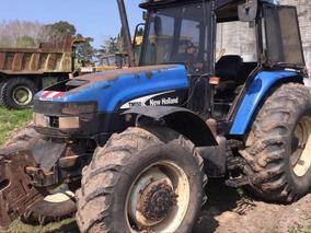 Tractor New Holland Tm150 4x4 Año 2004 C/13.586 Horas De Uso