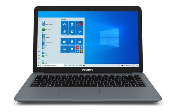 Notebook Positivo Motion I34128a Core I3 4gb 128gb Ssd + 64g