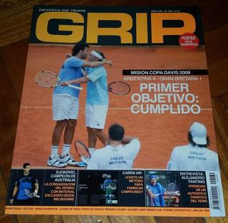 Revista Grip Núm 169 Año 17 Argentina Copa Davis 2008