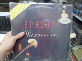 Lp Nacional - Erasure - Wonderland - Frete 15
