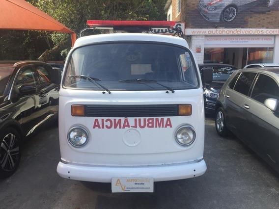 Volkswagen Kombi Kombi 1.6 Mi Std Gasolina Ambulância