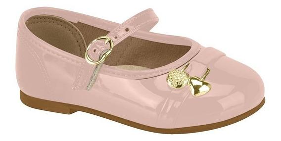 Sapato Infantil Boneca Molekinha 21061001 Social Verniz