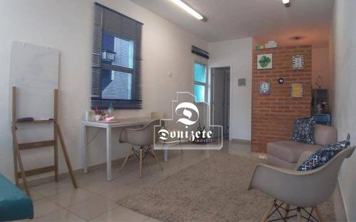 Sala À Venda, 33 M² Por R$ 164.500,00 - Vila Guiomar - Santo André/sp - Sa1052