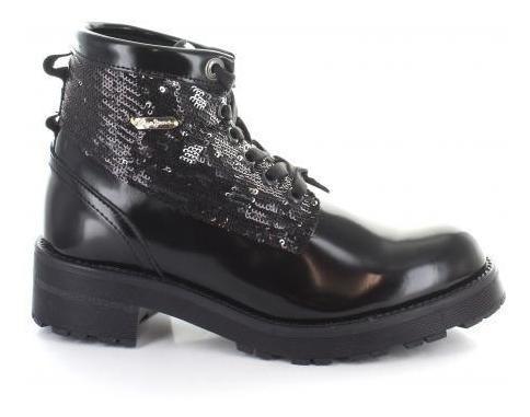 Botin Para Mujer Pepe Jeans 87601 Color Negro