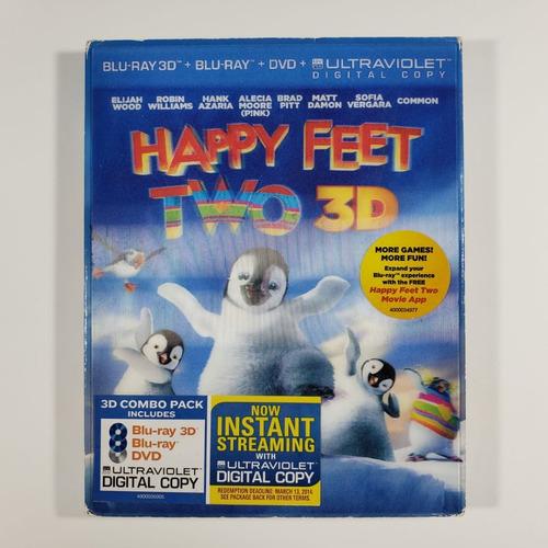 Blu-ray  Happy Feet 2: O Pinguim | 3d
