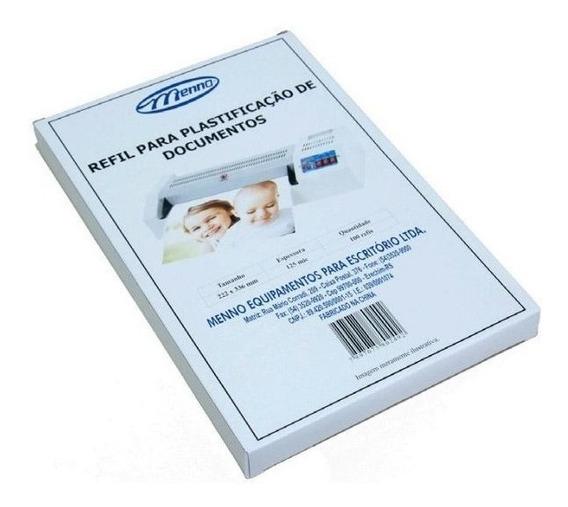 Polaseal Para Identidade Rg 0,5 Micras 80x110 Menno 100 Und
