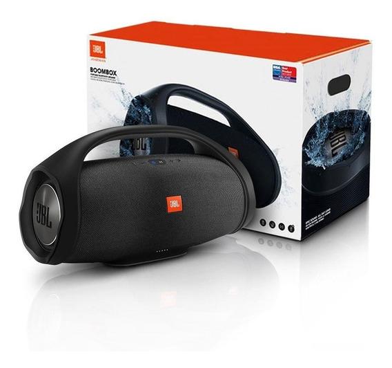 Caixa De Som Portátil Boombox Mini Bluetooth +p2 E Usb 20w