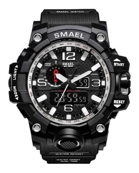 Relógio Esportivo Smael 1545 Varias Cores A Prova D