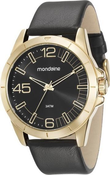 Relógio Masculino Mondaine Análogo Social 76656gpmvdh2 C/ Nf