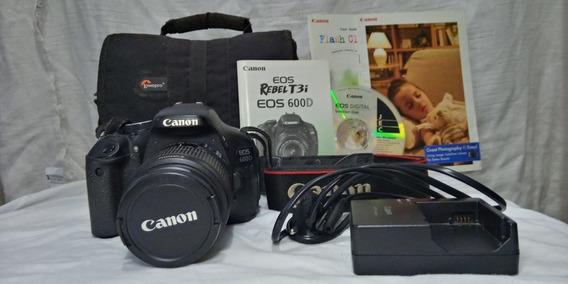 Vende-se Canon Rebel T3i/eos 600d