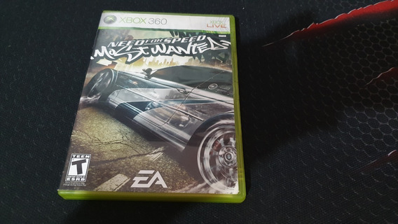 Need For Speed Most Wanted Xbox 360 Completo Ntsc