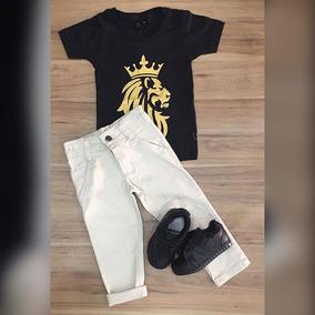 Camiseta Juda Black Calça Bege Tenis Old Prince